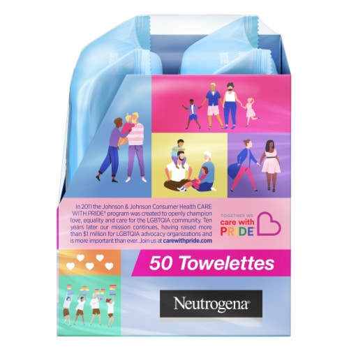 Neutrogena Makeup Remover Cleansing Towelettes Special Value Twin Pack Perspective: right