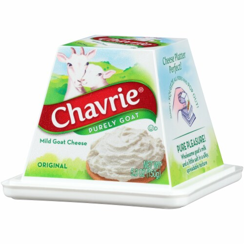 Chavrie Purely Goat Original Mild Goat Cheese Perspective: right