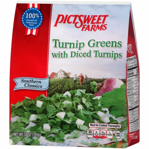 PictSweet Farms Southern Classics Turnip Greens With Diced Turnips Perspective: right