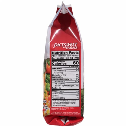 PictSweet Farms Mixed Vegetables Family Size Perspective: right