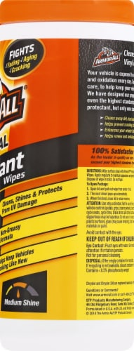 Armor All® Original Protectant Wipes Perspective: right