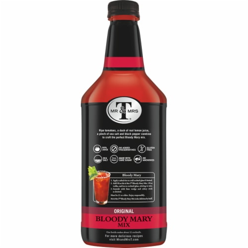 Mr & Mrs T Original Bloody Mary Mix Perspective: right