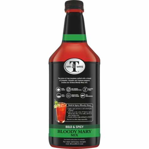 Mr & Mrs T Bold & Spicy Bloody Mary Mix Perspective: right