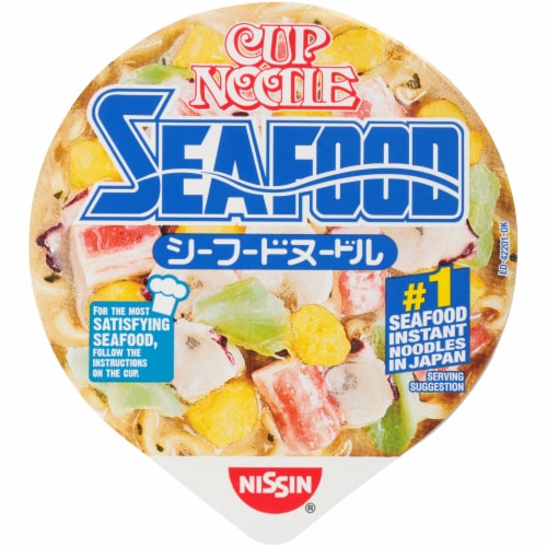 Nissin Cup Noodles Seafood Unit Perspective: right