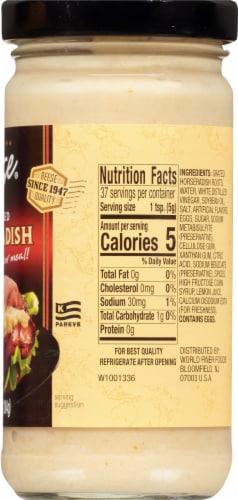 Reese Prepared Horseradish Sauce Perspective: right