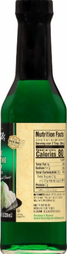 Reese Creme De Menthe Syrup Perspective: right