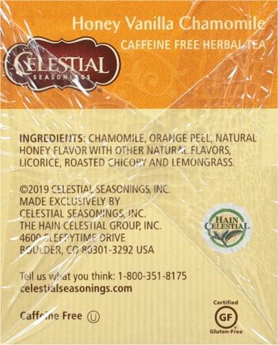 Celestial Seasonings  Honey Vanilla Chamomile Herbal Tea Bags Perspective: right