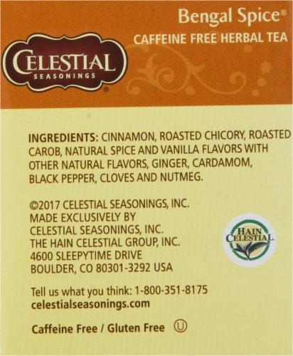 Celestial Seasonings Bengal Spice Herbal Tea Bags Perspective: right