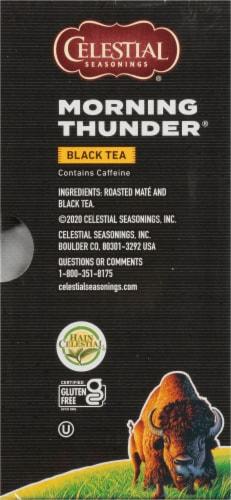 Celestial Seasonings Morning Thunder Black Tea Bags Perspective: right