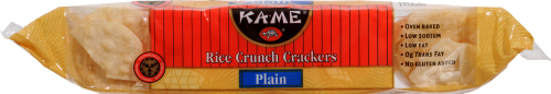 Kame Rice Crunch Plain Crackers Perspective: right
