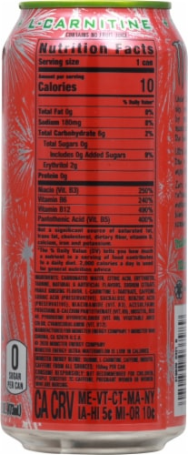 Monster Zero Sugar Ultra Watermelon Energy Drink Perspective: right