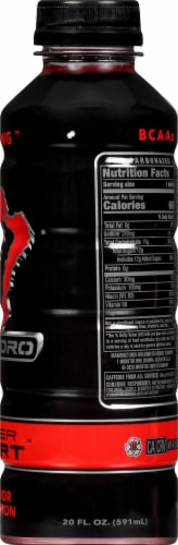 Monster Hydro Super Sport Red Dawg Enhanced Water Perspective: right