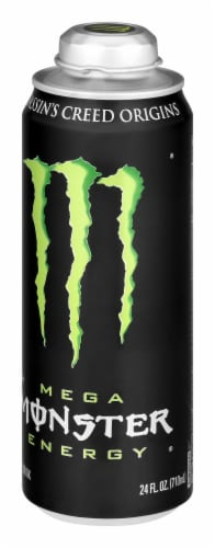 Monster Mega Energy Drink Perspective: right