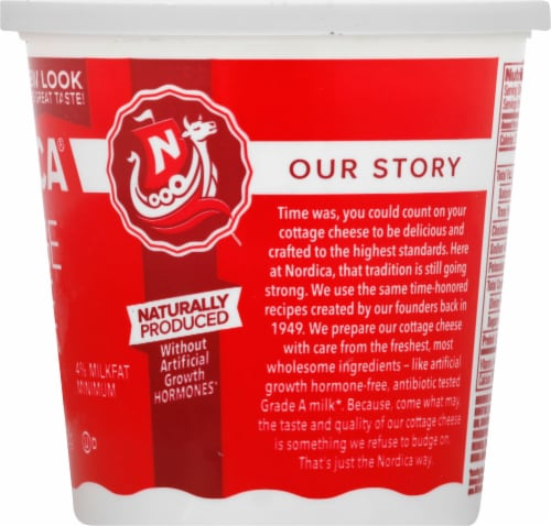 Nordica 4% Cottage Cheese Perspective: right