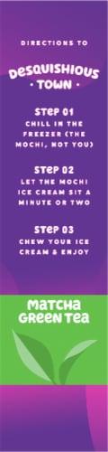 My/Mo Green Tea Mochi Ice Cream Perspective: right