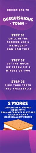 My/Mo S'mores Mochi Ice Cream Perspective: right