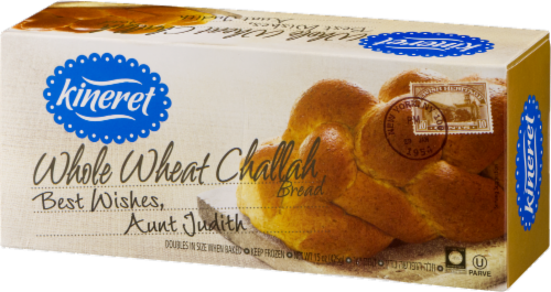 Kineret Whole Wheat Challah Bread Perspective: right