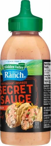 Hidden Valley Gluten Free The Original Ranch Secret Sauce Perspective: right