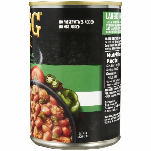 Stagg Chili Laredo with Beans Perspective: right