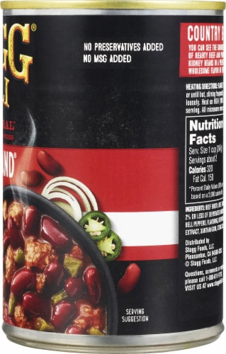 Stagg Chili Country Brand Mild Chili with Beans Perspective: right