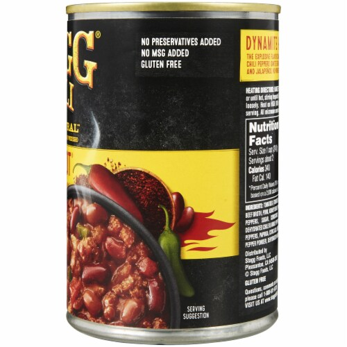 Stagg Chili Dynamite Hot Chili with Beans & Habanero Peppers Perspective: right