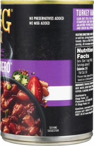 Stagg Chili® Turkey Ranchero Chili with Beans Perspective: right