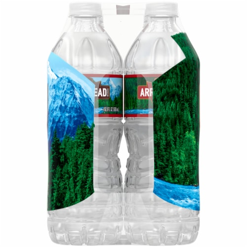 Arrowhead 100% Mountain Spring Water Perspective: right