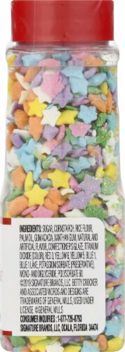 Betty Crocker Sprinkables Multicolred Stars Sprinkles Perspective: right