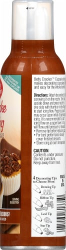 Betty Crocker Chocolate Decorating Cupcake Icing Perspective: right