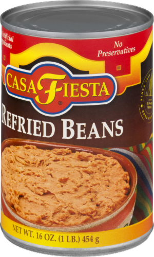 Casa Fiesta Refried Beans Perspective: right