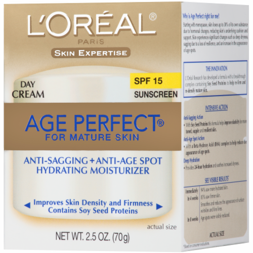 L'Oreal Paris Age Perfect Day Cream SPF 15 Perspective: right