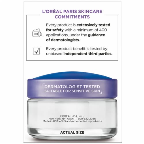 L'Oreal Paris Collagen Moisture Filler Daily Moisturizer Perspective: right
