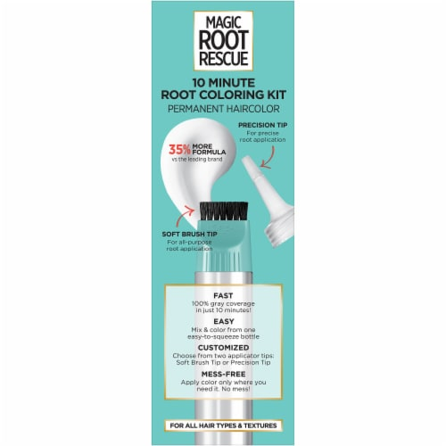 L'Oreal Paris Magic Root Rescue 4 Dark Brown Hair Color Perspective: right