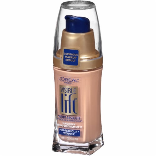 L'Oreal Paris Visible Lift Creamy Natural Serum Absolute Foundation Perspective: right