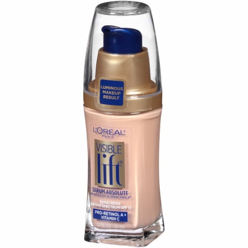 L'Oreal Paris Visible Lift Classic Ivory Serum Absolute Foundation Perspective: right