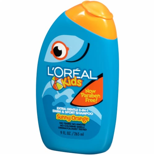 L'Oreal Kids Sunny Orange 2-in-1 Swim & Sport Shampoo Perspective: right