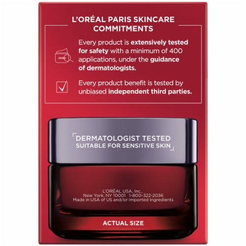 L'Oreal Paris RevitaLift Triple Power Intensive Overnight Mask Perspective: right