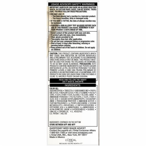 L'Oreal Paris Superior Preference Warmer Medium Golden Brown 5G Permanent Hair Color Perspective: right