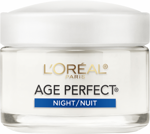 L'Oreal Paris Age Perfect Mature Skin Hydrating Moisterizer Night Cream Perspective: right