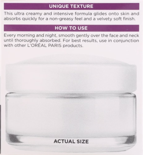 L'Oreal Paris Wrinkle Expert 55+ Moisturizer Perspective: right