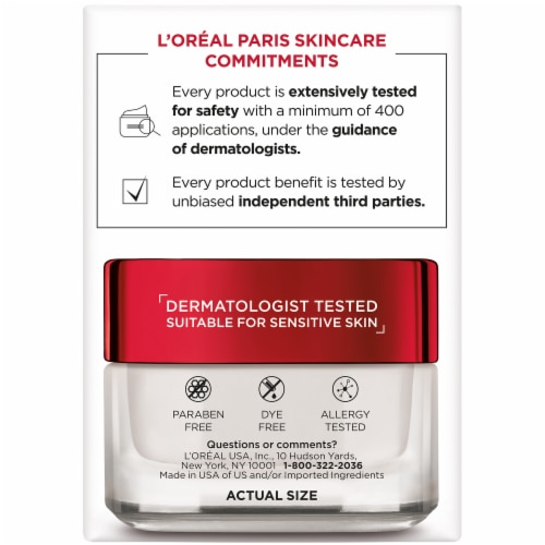 L'Oreal Paris Revitalift Anti-Wrinkle + Firming Moisturizer SPF 25 Perspective: right