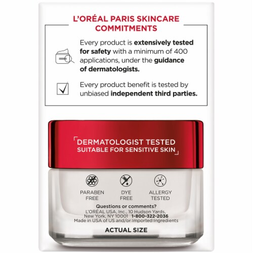 L'Oreal Paris Revitalift Anti-Wrinkle + Firming SPF 25 Cream Perspective: right