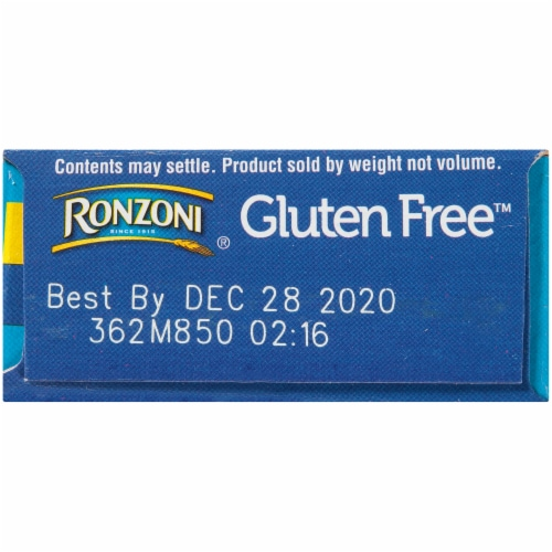 Ronzoni Gluten Free Thin Spaghetti Perspective: right