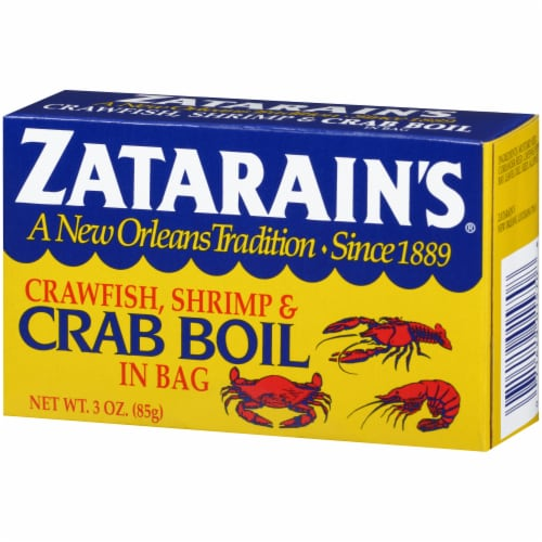 Zatarain's Crawfish Shrimp & Crab Boil in Bag Perspective: right