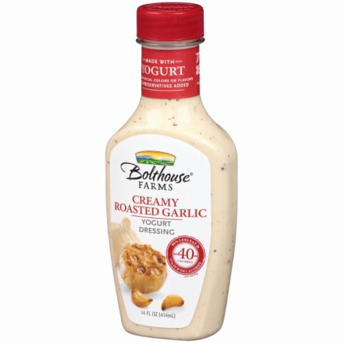 Bolthouse Farms Creamy Roasted Garlic Yogurt Dressing Perspective: right
