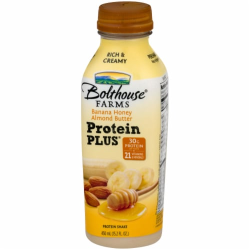 Bolthouse® Farms Protein Plus Banana Honey Almond Butter Protein Shake Perspective: right