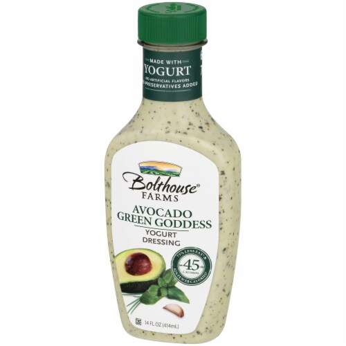 Bolthouse Farms Avocado Green Goddess Yogurt Dressing Perspective: right