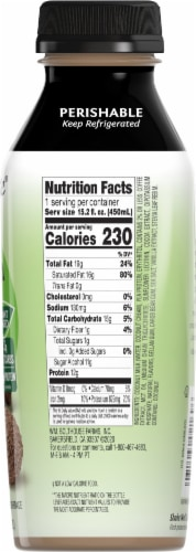 Bolthouse Farms Mocha Truffle Latte Plant-Based Keto Protein Shake Perspective: right