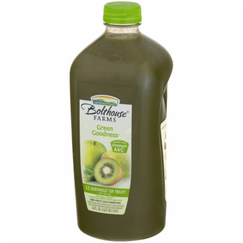 Bolthouse Farms Green Goodness Fruit Juice Smoothie Perspective: right