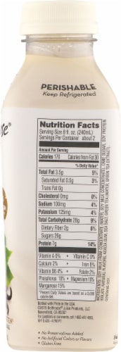 Bolthouse Farms Vanilla Chai Tea Protein Tea & Soy Beverage Perspective: right